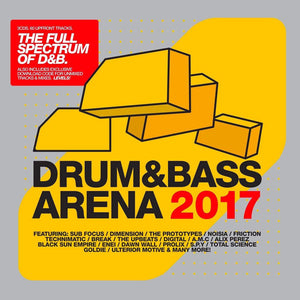 Drum&BassArena (3xCD inc. Digital Tracks) 2017 - Drum&BassArena