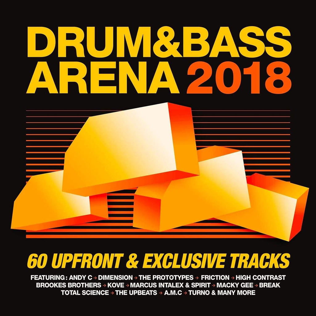 Drum&BassArena 2018 (3xCD inc. Digital Tracks) - Drum&BassArena