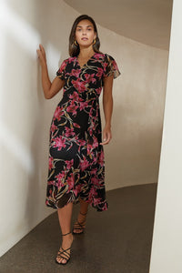 Joseph Ribkoff Wrap Dress