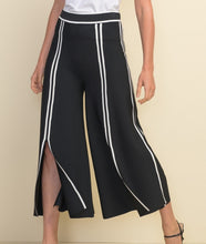Load image into Gallery viewer, Joseph Ribkoff Black/Vanilla Pants Style 211930