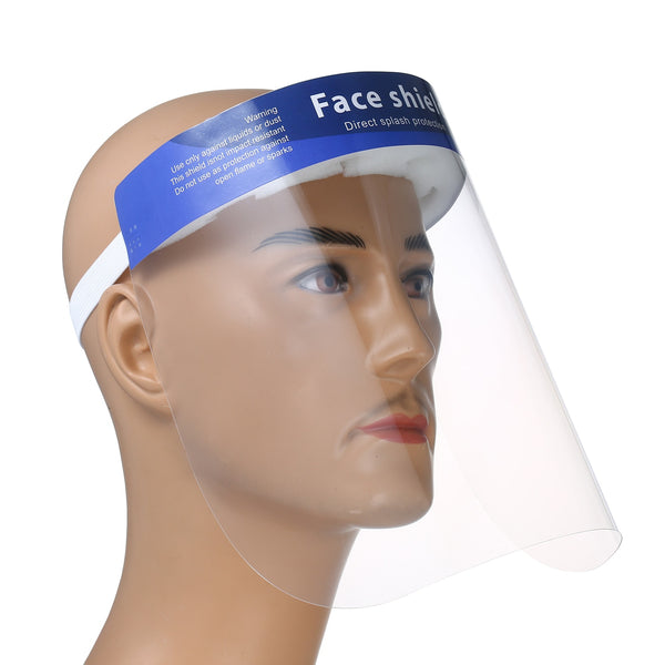 10PCS Disposable Safety Face Shield Mask