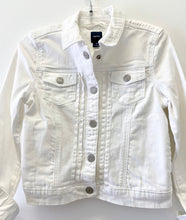 Load image into Gallery viewer, Gap White Denim Jacket