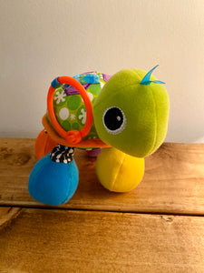 Infantino Turtle Rattle Stroller Toy