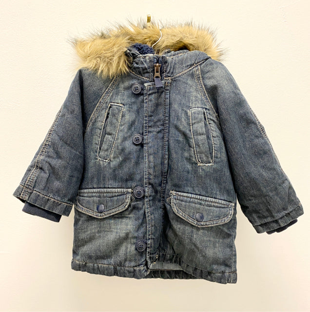 Gap Hooded Denim Jacket