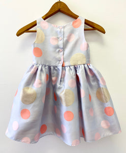 Rosenau Gray Dot Dress
