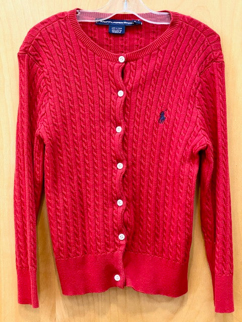 Ralph Lauren Red Cardigan