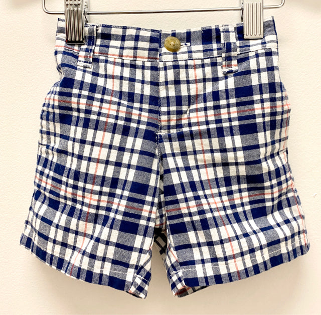Janie & Jack Plaid Shorts