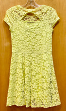 Load image into Gallery viewer, Abercrombie Lace Neon Green Dress