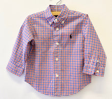 Load image into Gallery viewer, Ralph Lauren Checkered Shirt