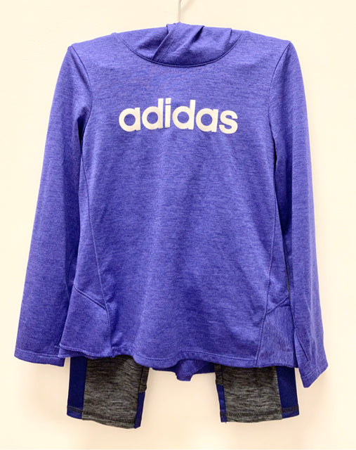 Adidas Purple 3 Piece Outfit