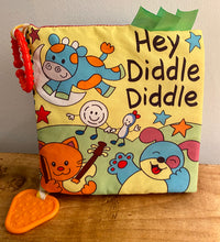 Load image into Gallery viewer, Hey Diddle Diddle Soft Baby Book