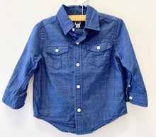 Load image into Gallery viewer, Janie & Jack Navy Shirt
