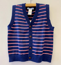 Load image into Gallery viewer, Janie & Jack Stripe Vest