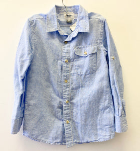 Old Navy Stripe Blue Shirt