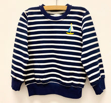 Load image into Gallery viewer, Picotini Navy Stripe Shirt