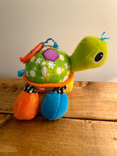 Load image into Gallery viewer, Infantino Turtle Rattle Stroller Toy