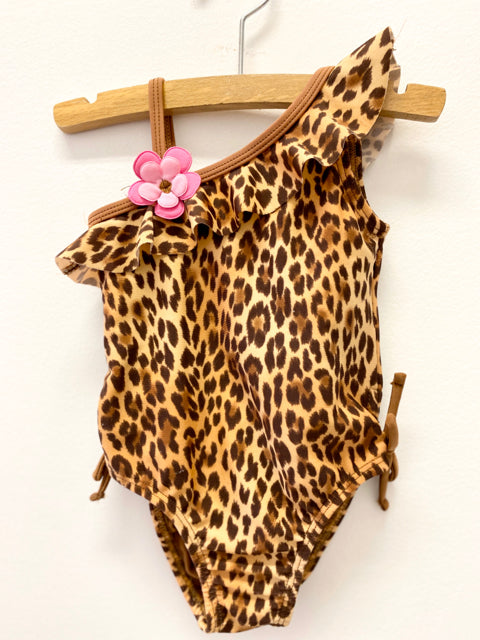 Baby Buns Leopard Bathing Suit