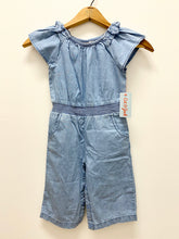 Load image into Gallery viewer, Cat & Jack Denim Romper