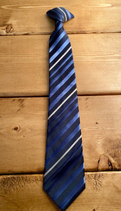 Cherokee Navy Clip-on Tie -  Large (12/14)