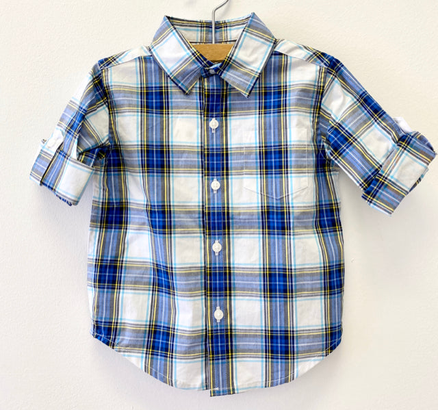Janie & Jack Plaid Shirt