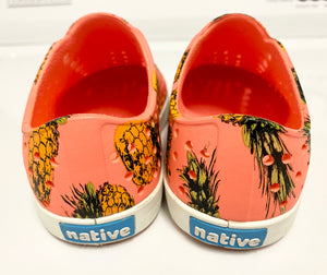 Native Pineapple Print Shoes