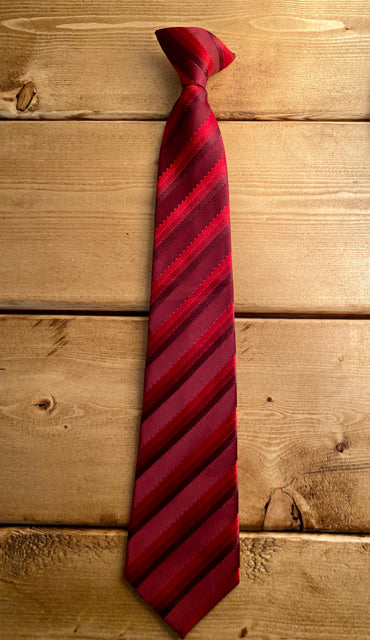 Cherokee Red Clip-on Tie -  Large (12/14)