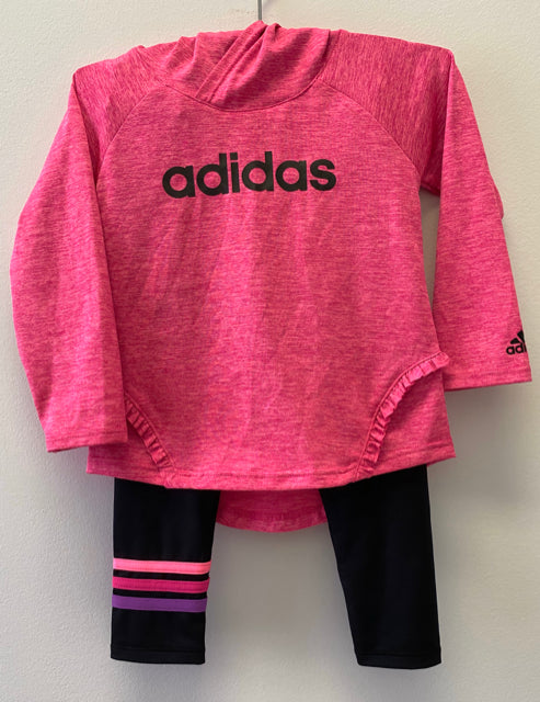 Adidas Hot Pink 2 Piece Outfit