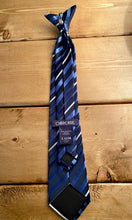 Load image into Gallery viewer, Cherokee Navy Clip-on Tie -  Large (12/14)