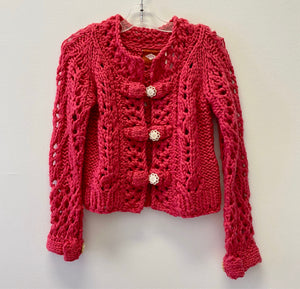 Oilily Pink Knit Sweater