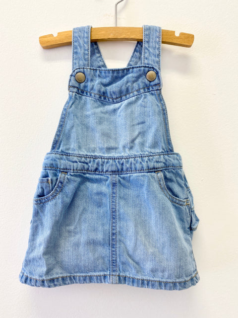 Old Navy Denim Overall Dress
