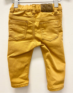 H&M Yellow Jeans