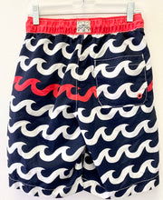 Load image into Gallery viewer, Gap Navy Print Swim Trunks