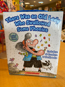 There Was An Old Lady Who Swallowed Some Phonics