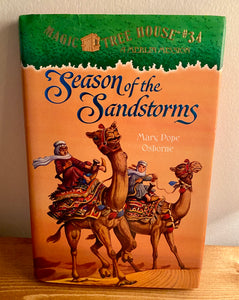 Magic Treehouse #34 Season of the Sandstorms