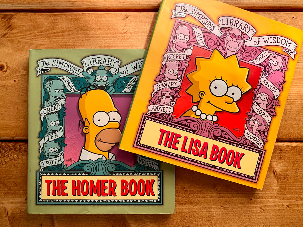 The Simpson's Book LOT