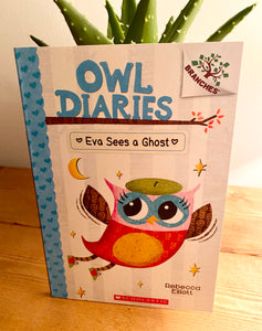 Owl Diaries Eva Sees a Ghost