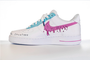 """AIRFORCE 24H"" LIMITED CUSTOM SHOES"