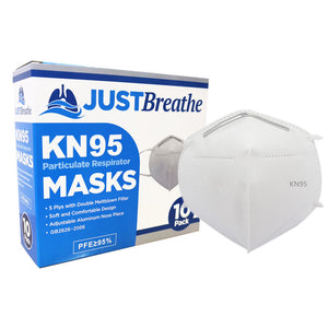 KN95 Masks by JUST Breathe 10 count