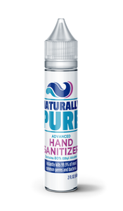 Naturally Pure Sanitizer 60ml 80% (5 Pack)