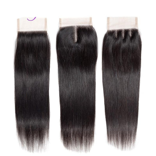 Cranberry  Straight Hair Lace Closure