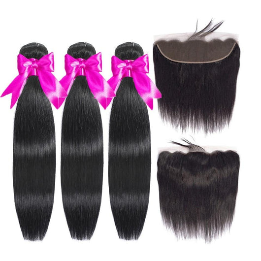 FABC Peruvian Straight Hair Bundles
