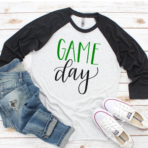 ANY COLORS Game Day Raglan