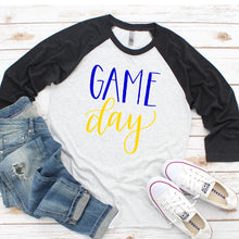 Load image into Gallery viewer, ANY COLORS Game Day Raglan