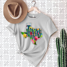 Load image into Gallery viewer, Watercolor Texas Tee