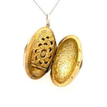Load image into Gallery viewer, Antique Austrian Egg-shaped Silver Locket