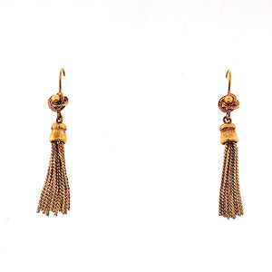 Victorian Tassel Drop Earrings