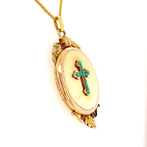 Antique French Locket
