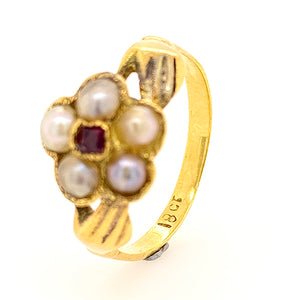 Antique Hands Ring