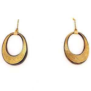 Antique Pique Drop Earrings - SOLD