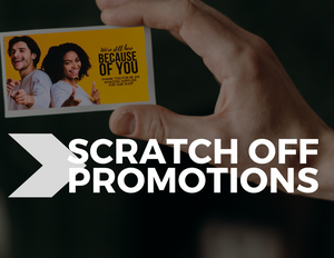 Scratch-Off Promotion Cards